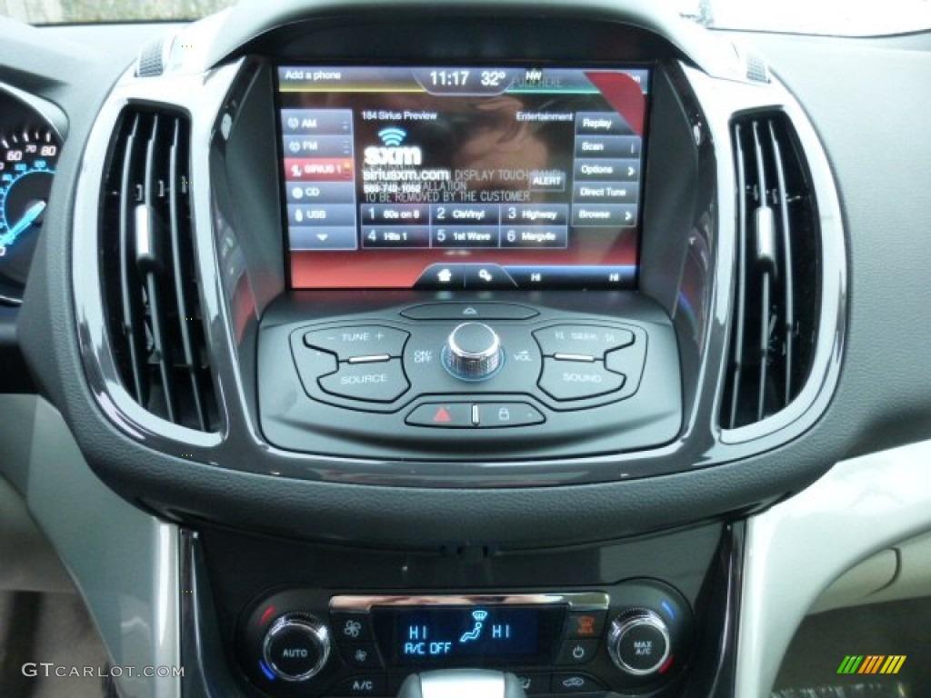 2013 White Platinum Metallic Tri Coat Ford Escape Sel 16l