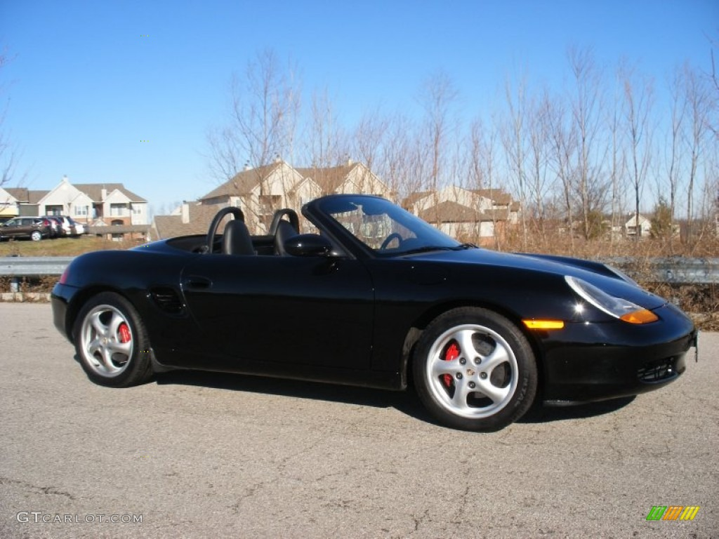 1999 black porsche boxster 75073784 car. Black Bedroom Furniture Sets. Home Design Ideas