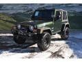 Moss Green Pearlcoat 2005 Jeep Wrangler Gallery
