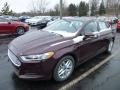 2013 Bordeaux Reserve Red Metallic Ford Fusion SE  photo #5