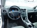 2013 Oxford White Ford Fusion S  photo #10