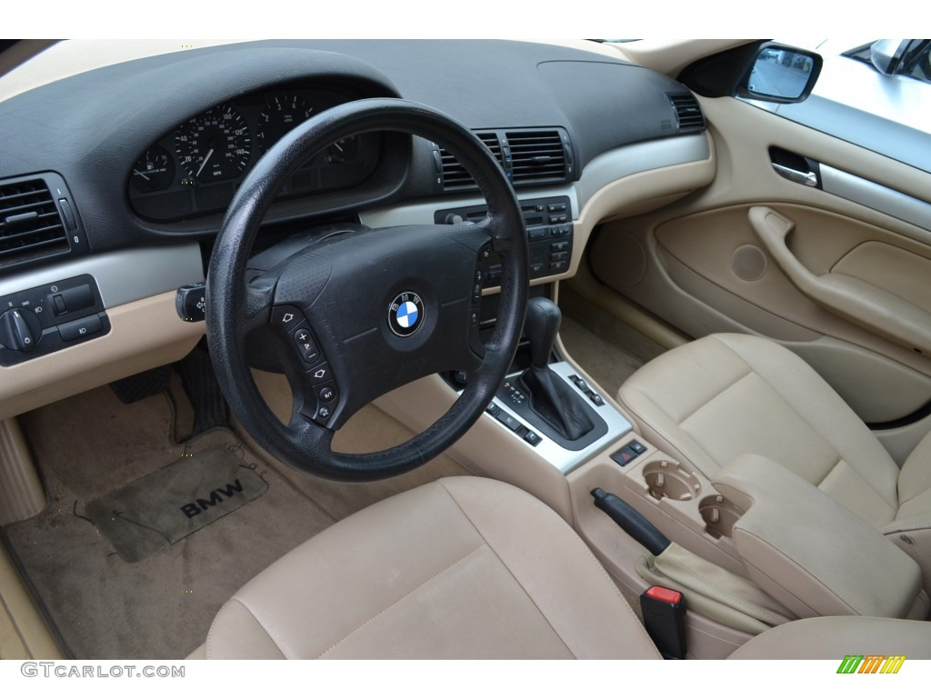 Beige Interior 2003 Bmw 3 Series 325i Sedan Photo