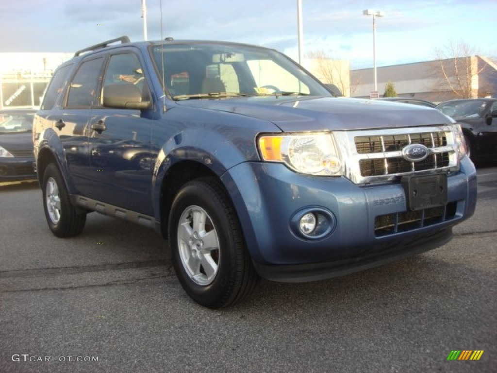 2009 Escape XLT - Sport Blue Metallic / Charcoal photo #1
