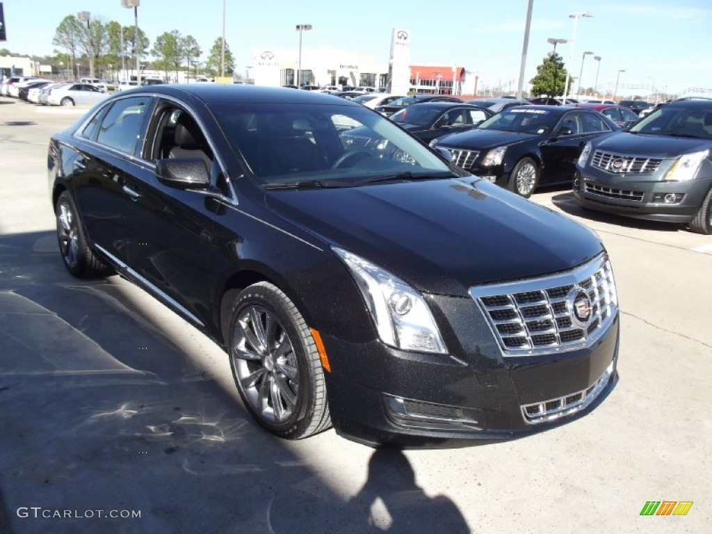 2013 black diamond tricoat cadillac xts fwd 75123371 photo 2 car color galleries. Black Bedroom Furniture Sets. Home Design Ideas