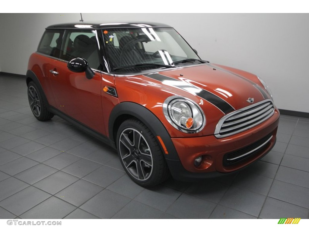 2013 spice orange metallic mini cooper hardtop 75145211 car color galleries. Black Bedroom Furniture Sets. Home Design Ideas