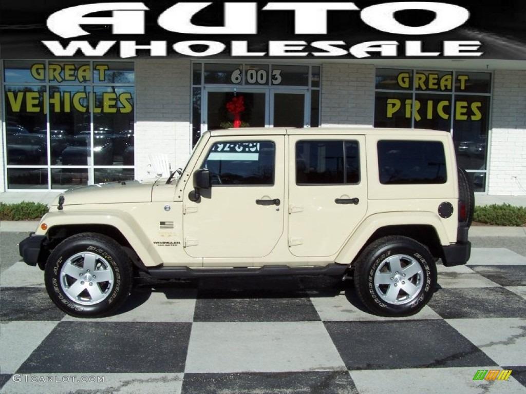 2012 sahara tan jeep wrangler unlimited sahara 4x4 #75161425