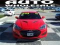 2013 Tsukuba Red Hyundai Genesis Coupe 2.0T  photo #2