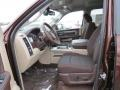 2013 1500 Big Horn Crew Cab Canyon Brown/Light Frost Beige Interior