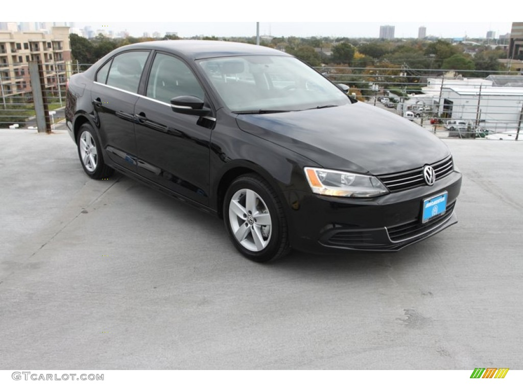 2013 black uni volkswagen jetta tdi sedan 75169057 car color galleries. Black Bedroom Furniture Sets. Home Design Ideas