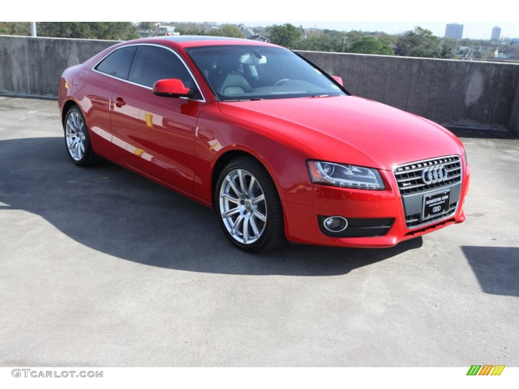 2011 brilliant red audi a5 2 0t quattro coupe 75169050 car color galleries. Black Bedroom Furniture Sets. Home Design Ideas