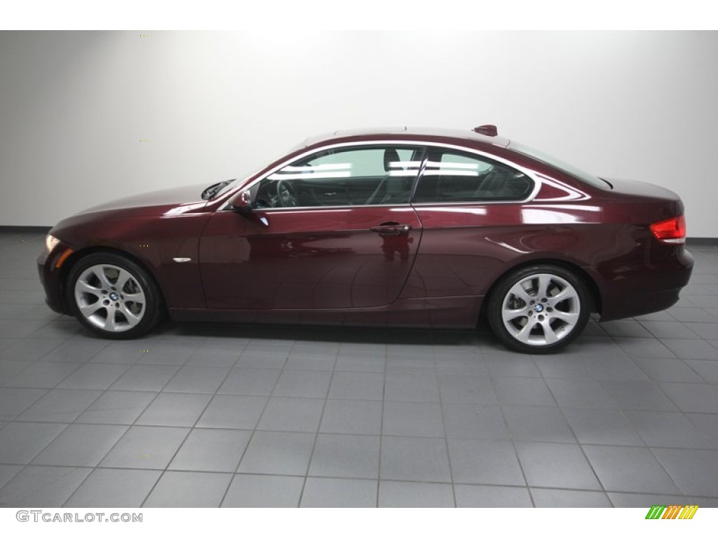barbera red metallic 2008 bmw 3 series 335i coupe exterior photo 75188807. Black Bedroom Furniture Sets. Home Design Ideas