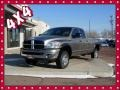 2007 Mineral Gray Metallic Dodge Ram 3500 Big Horn Quad Cab 4x4 #75168853