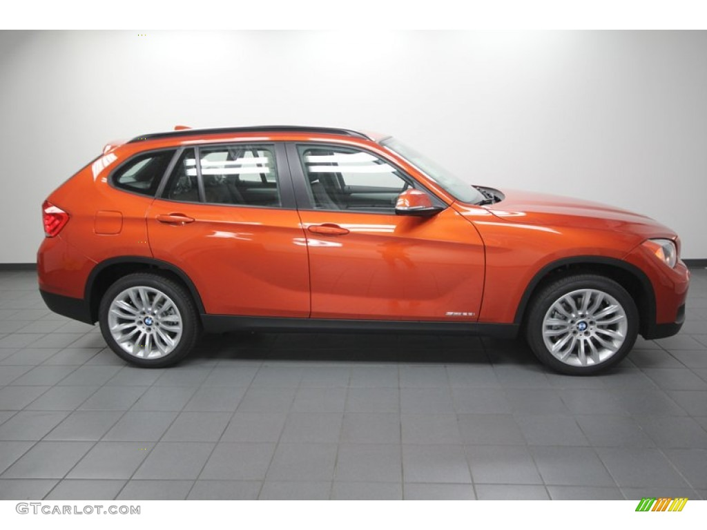 valencia orange 2013 bmw x1 sdrive 28i exterior photo. Black Bedroom Furniture Sets. Home Design Ideas