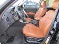 2006 BMW X3 Terracotta Interior Front Seat Photo