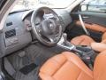 2006 BMW X3 Terracotta Interior Prime Interior Photo