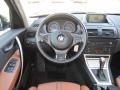 2006 BMW X3 Terracotta Interior Dashboard Photo