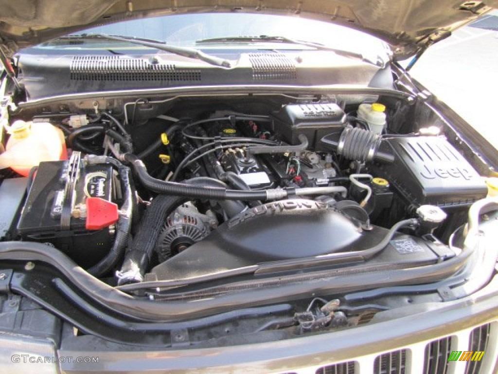 2004 jeep grand cherokee laredo 4 0 liter ohv 12v inline 6 for Jeep grand cherokee laredo motor