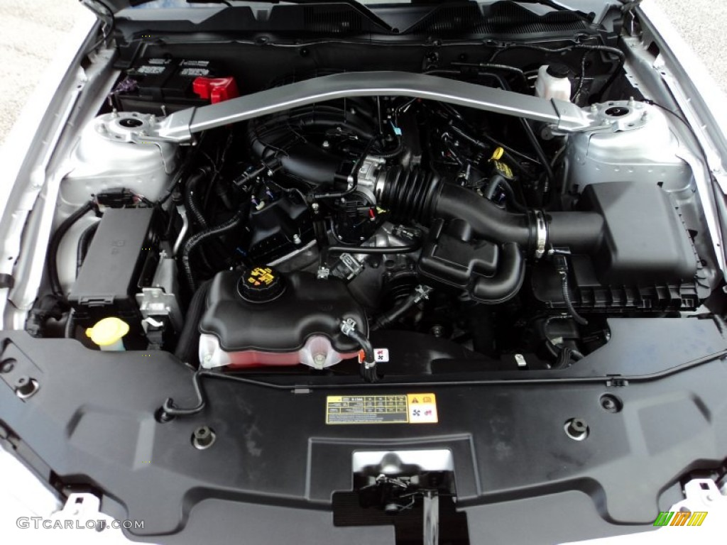 2012 Ford Mustang V6 Premium Convertible Engine Photos