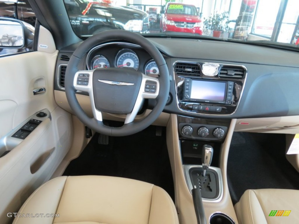 2013 cashmere pearl chrysler 200 limited convertible 75194167 photo 11 car. Black Bedroom Furniture Sets. Home Design Ideas