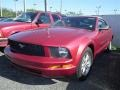 2007 Redfire Metallic Ford Mustang V6 Deluxe Convertible  photo #3