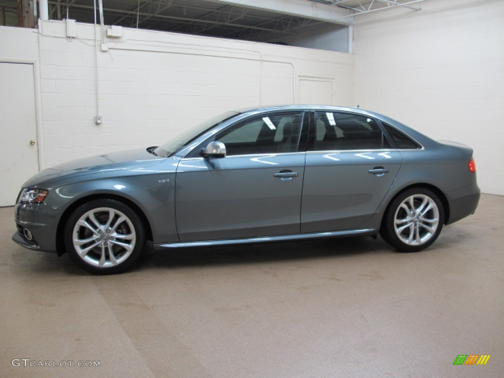 Monsoon Gray Metallic 2012 Audi S4 3 0t Quattro Sedan