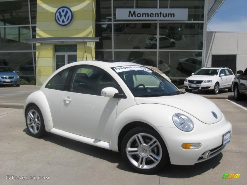 2005 Campanella White Volkswagen New Beetle Gls 1 8t Coupe