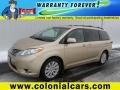Sandy Beach Metallic 2012 Toyota Sienna Limited AWD
