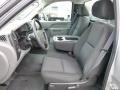 Dark Titanium Front Seat Photo for 2010 Chevrolet Silverado 1500 #75265770