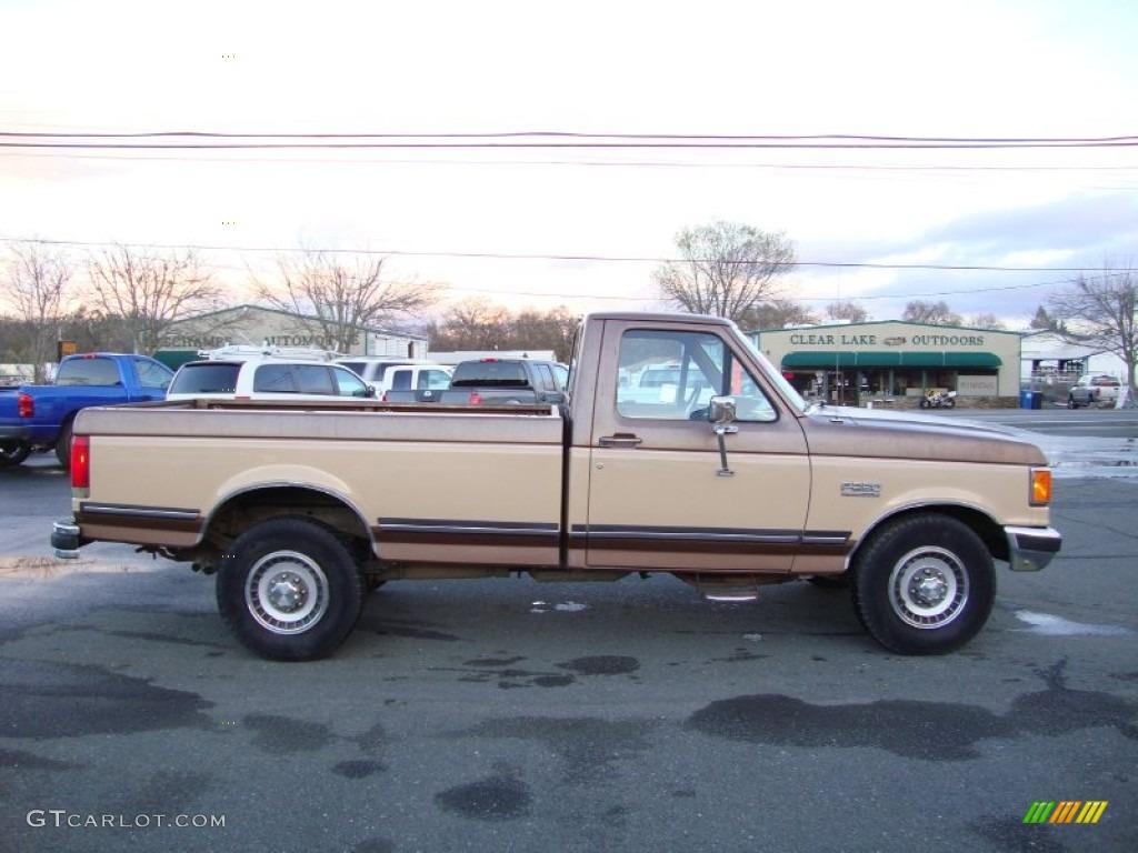 light chestnut 1988 ford f250 xlt regular cab exterior. Black Bedroom Furniture Sets. Home Design Ideas