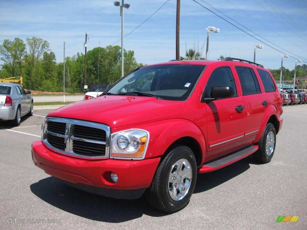2005 flame red dodge durango limited 7511825 car color galleries. Black Bedroom Furniture Sets. Home Design Ideas