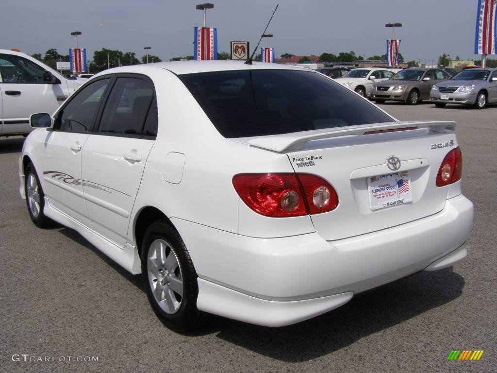 2005 Super White Toyota Corolla S 7482069 Photo 5