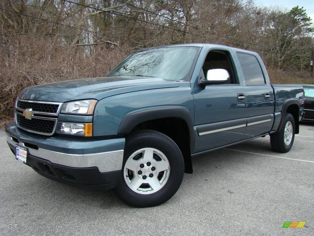 2006 chevrolet silverado 1500 z71 crew cab 4x4 blue granite metallic. Cars Review. Best American Auto & Cars Review