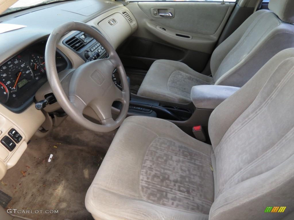 Ivory Interior 2000 Honda Accord Ex Sedan Photo 75286233
