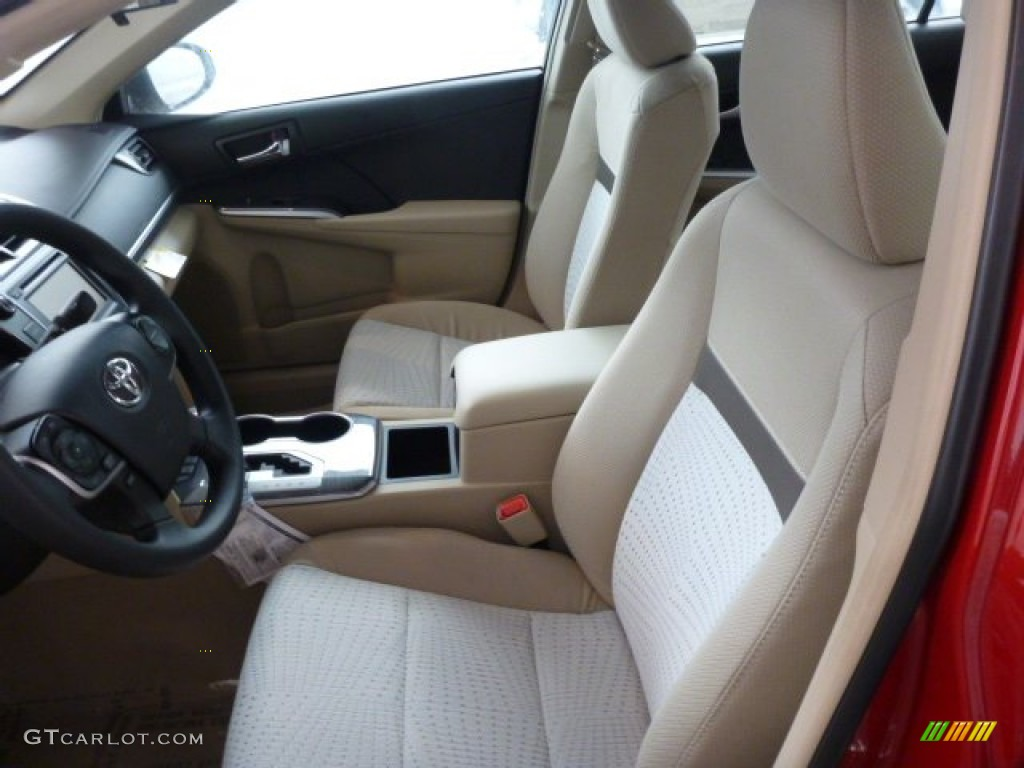 ivory interior 2013 toyota camry hybrid le photo 75308894. Black Bedroom Furniture Sets. Home Design Ideas