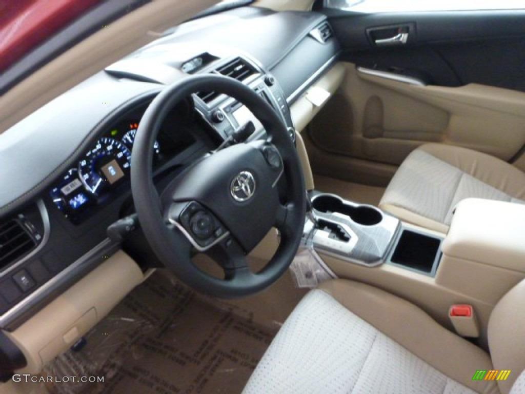 Ivory Interior 2013 Toyota Camry Hybrid Le Photo 75308925