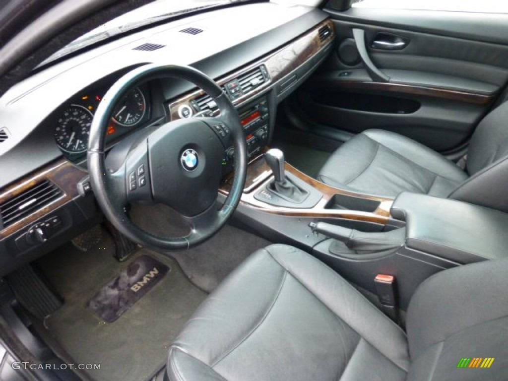 Black interior 2006 bmw 3 series 330xi sedan photo 75316217