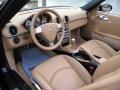 Sand Beige 2007 Porsche Boxster Interiors
