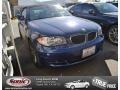Montego Blue Metallic 2010 BMW 1 Series 128i Convertible