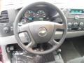 2013 Deep Ruby Metallic Chevrolet Silverado 1500 LS Extended Cab 4x4  photo #18