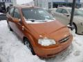Spicy Orange 2006 Chevrolet Aveo LS Sedan