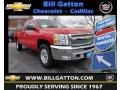 2013 Victory Red Chevrolet Silverado 1500 LT Extended Cab 4x4  photo #1