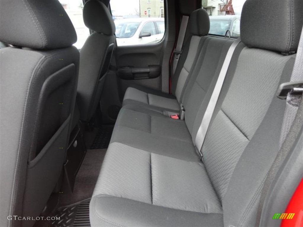 2013 Silverado 1500 LT Extended Cab 4x4 - Victory Red / Ebony photo #8