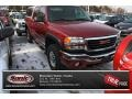 2007 Sport Red Metallic GMC Sierra 2500HD Classic SLE Extended Cab 4x4 #75336529