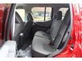 2012 Nissan Xterra Gray Interior Rear Seat Photo