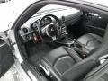 Black 2007 Porsche Cayman Interiors