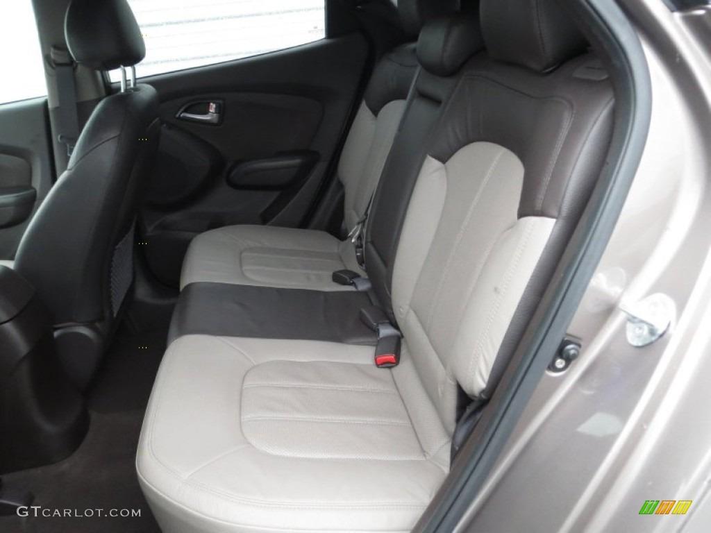 Taupe Interior 2011 Hyundai Tucson Limited Photo 75371810