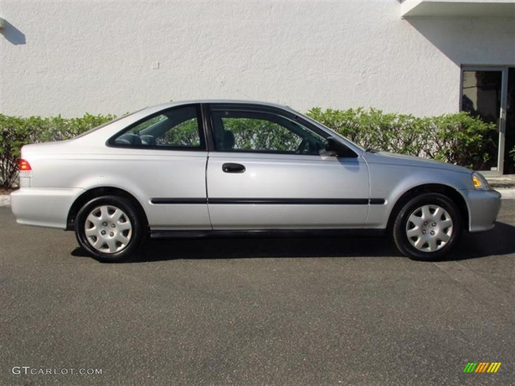 Vogue Silver Metallic 1999 Honda Civic DX Coupe Exterior Photo #75375679