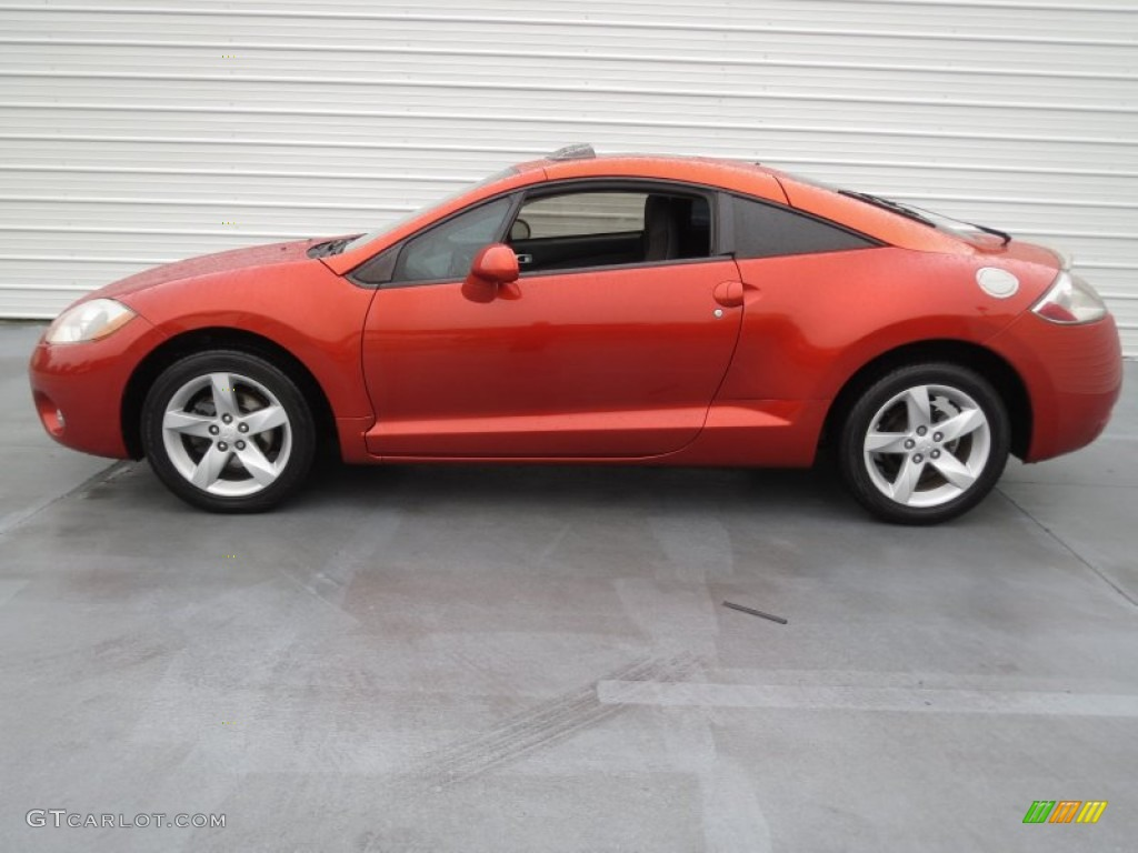 Sunset Orange Pearlescent 2006 Mitsubishi Eclipse Gs Coupe Exterior Photo 75377783 Gtcarlot Com