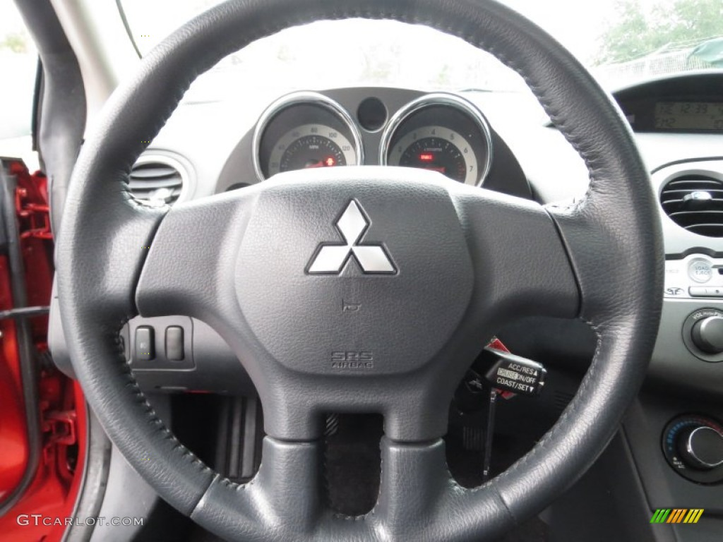 2006 mitsubishi eclipse gs coupe dark charcoal steering. Black Bedroom Furniture Sets. Home Design Ideas