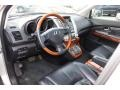 Black 2008 Lexus RX Interiors